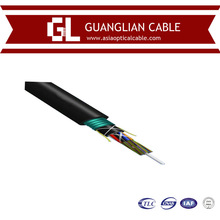 Single mode OS2 4core armored optic cable with Guanglian Brand