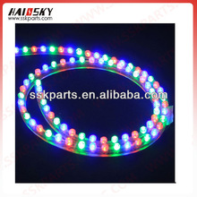 motorcycle flexible led light rgbw strip set