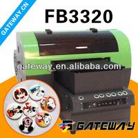 Small Digital Flatbed Printer to Print Sport Events Ticket, PVC Cards Digital Flatbed Printing Machine