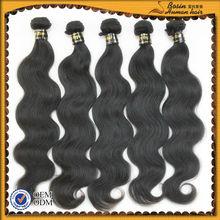High quality raw unprocessed hair, remy italian body wave hair