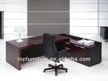 Modern Style High Quality Wood Office L Shaped Executive Desk