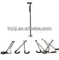 aluminum folding height adjustable walking sticks canes bone cane handles