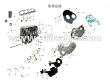 JAC TRUCK SPARE PARTS HFC4DA1-2B Cylinder Block Assembly