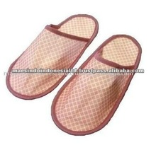 Deluxe Printed Disposable Foam Hotel Slippers