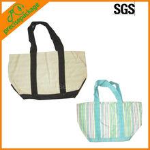 cheap stock fine canvas shopping bags