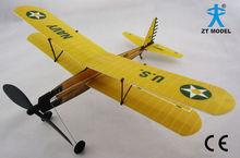 Aviator-Biplane 17 Rubber Band Powered Plane Rubber Band Plane
