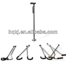 aluminum walking folding crutch Folding cane height sticks motorcycle camping trailers