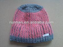 The latest Fashion Women's Soft Chunky Acrylic Fleeced Mixed Colorful Beanie Hats