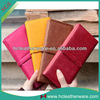 2013 Fashion Ladies Quality PU Leather Wallet Gorgeous Brand Women Pure Color Bi-fold Billfold With Buckle And Card Slots