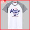 2013 latest design boys t-shirts raglan sleeves silk printing