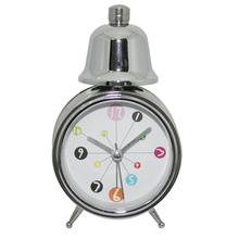 Metal running alarm clock