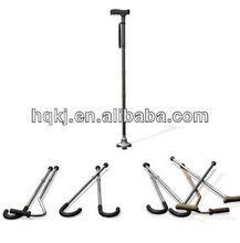 aluminum walking folding crutch Folding cane height sticks portable outdoor backrest beach camping chair