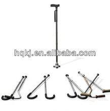 aluminum walking folding crutch Folding cane height sticks tent beach umbrella
