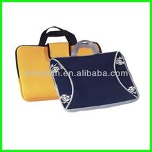 Hot sale cheap neoprene top open laptop bag