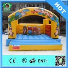 HI best selling funny inflatable spiderman bounce slide