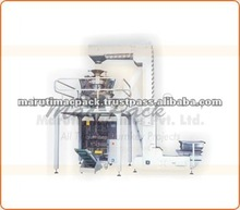 peanuts, melon seeds, beans, green beans, popcorn, grain bag back packing machine combination weigher