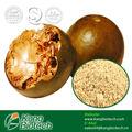 التحلية الطبيعية و السعرات الحرارية مجانا/ الراهبيمكن مستخلصات الفاكهة 25% ~55% mogroside الخامس
