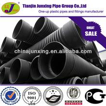 hdpe polyethylene corrugated plastic pipe price