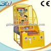 BWRG56 Funny basketball toss redemption games coin operated toss games