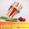 Color handle kitchen knife non-stick stainless steel knife set