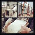 Pequeña escala cassaca flour| almidón de yuca secador de equipos