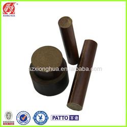 Phenolic laminated electrical conductor insulator