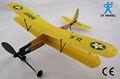 Aviador- biplano 17 banda de goma plano eléctrico alimentado de goma plano