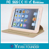 Luxry Detachable 360 rotating leather case for ipad mini with stand