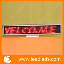 LLD hot sale product 16*128 pixels high resolution led desk display