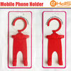 Air free fashion car mobile holder for mobile phone pda