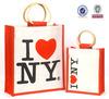 Cane Handle Jute Promotional Bag