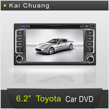 6.2inch 2din Toyota Car DVD Player with GPS Bluetooth TV Ipod