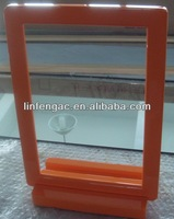 Orange MDF Framed Dining Table Mirror