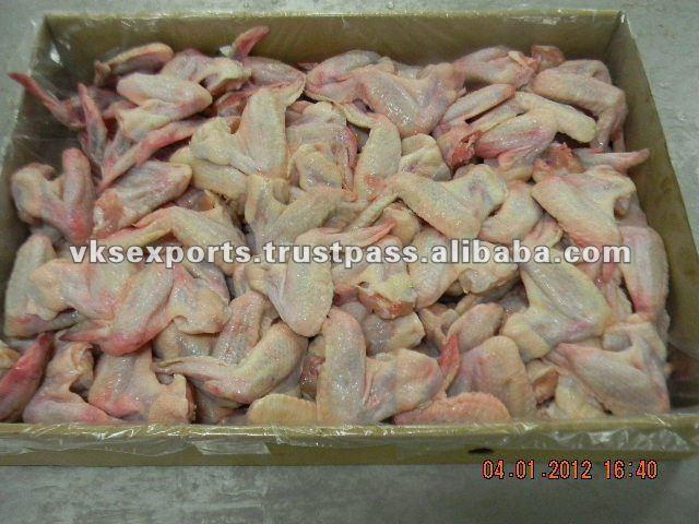 Indian Frozen Halal Chicken Wings