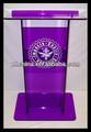 Rd-881 venda quente vidro orgânico púlpito ; acrílico púlpito móveis ; igreja púlpito Designs