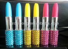 Shining lipstick shape ballpoint pen,hot-selling !!! CH6580