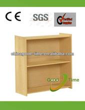 2013 modern melamine kd 2 shelf bookshelf design factory