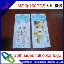Promotional Custom Paper Car Air Freshener