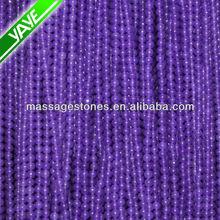 Wholesale Natural Purple Gemstones Jade 6 mm Mixed Semi precious Stone beads