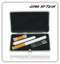 E Vape Starter Kit S808D,White Dragon E Vape with Mini USB Charger,Metal Case with 2 Batteries Kit