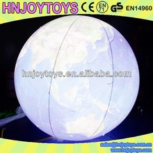 Inflatable LED Balloon with Map Painting