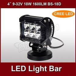 """hotsale 4"""" 1600LM 18w flood light led off road lightBS-18D"""
