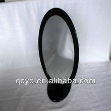 Fashion oval handmade decorative acrylic mirror