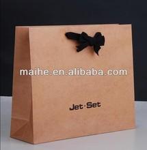 kraft paper grocery bags/square bottom kraft paper bag