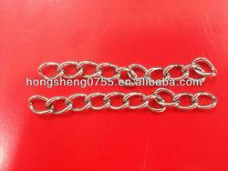 metal decorative long link chain long decorative link chain decorative hang ing chain