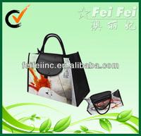 Fashion laminated non woven shopping bag or tote bag