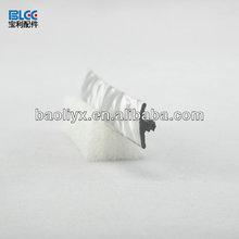 edge decoration,high quality pvc colorful rubber edge band decorative edge band