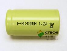 Sub C 3000mAh NiMH Battery
