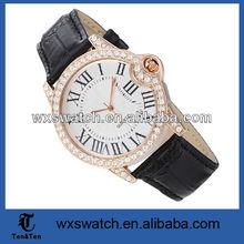 Big dial vogue Unique Designer Men wrist Watches men with hole on band