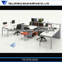 Gorgeous acrylic office desks design cheap office table price